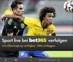 Live Stream Angebot Bet365