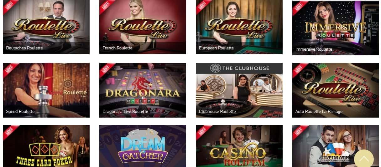 Casino Club Live Casino