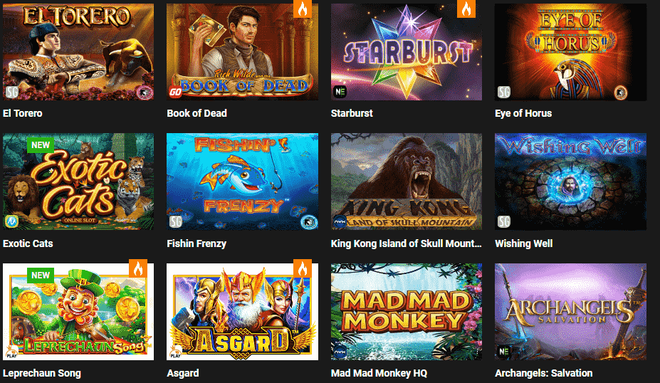 Stake7 beliebte Spiele