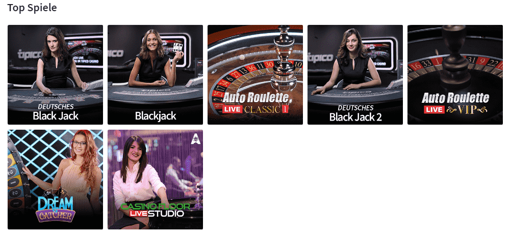 tipico live casino blackjack