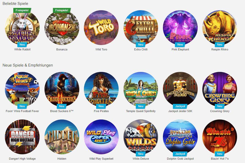 gute spiele tipico casino