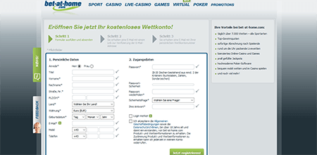 DE Bet-at-home Registrierung 2