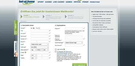 DE Bet-at-home Registrierung 2