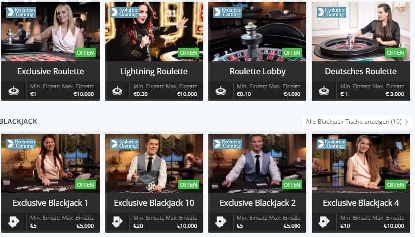 Betson Live Casino