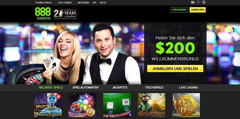 DE 888 Casino 3.1