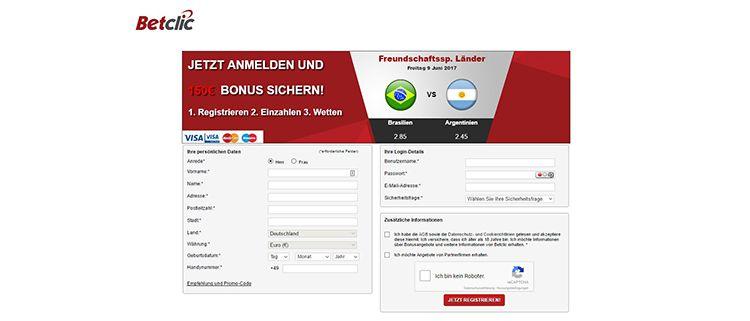 DE Betclic Registrierung 2.1