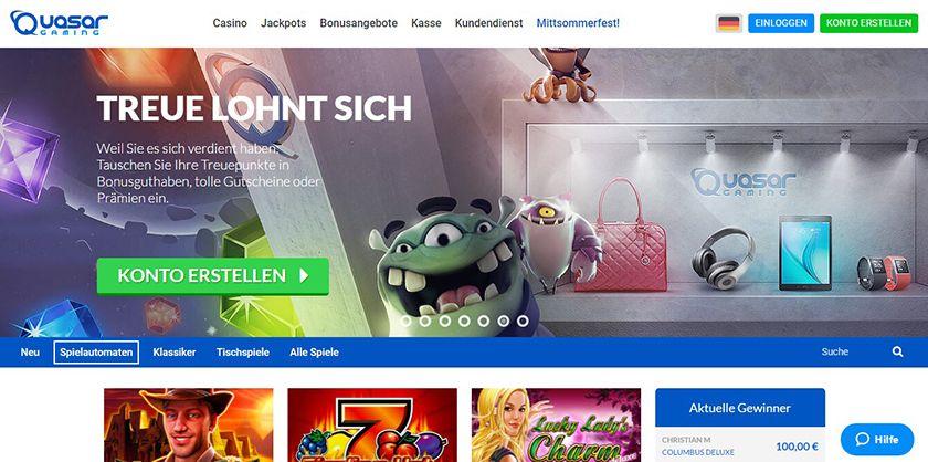 online casino freispiele quasar