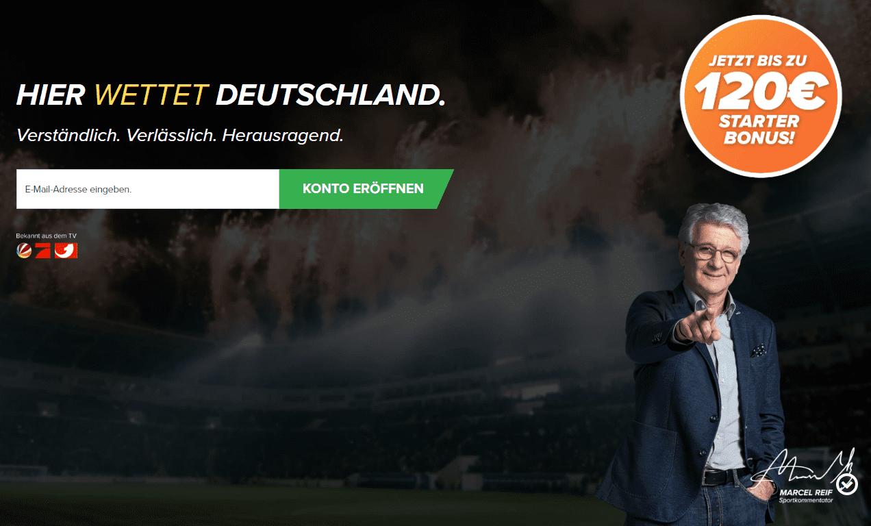Wetten.com Bonus Seite