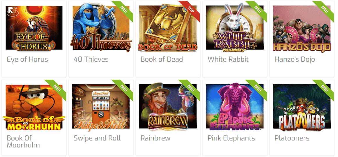 Lapalingo beliebte Spiele