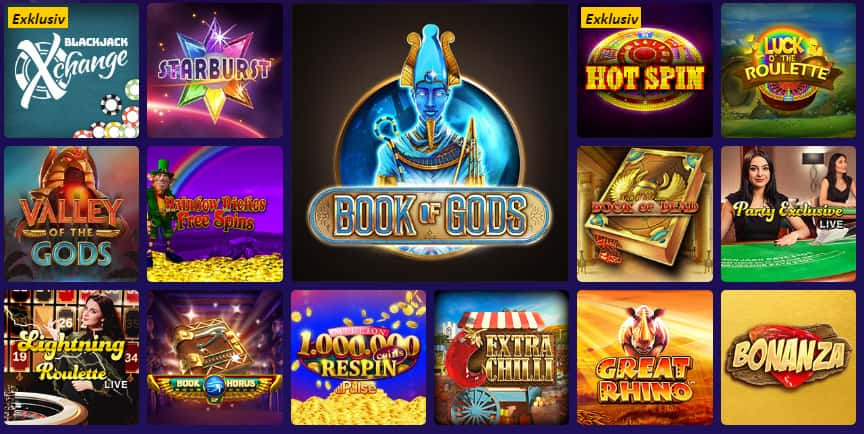 Party Casino Spiele