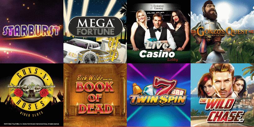 Rizk Casino beliebte Spiele