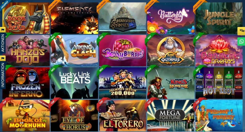 Sunmaker beliebte Spiele