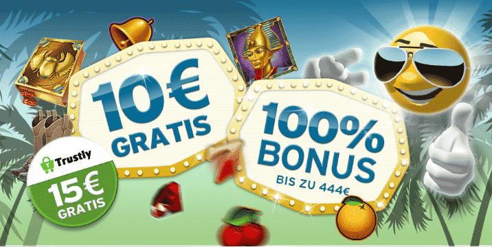 Sunnyplayer Casino Bonus Seite