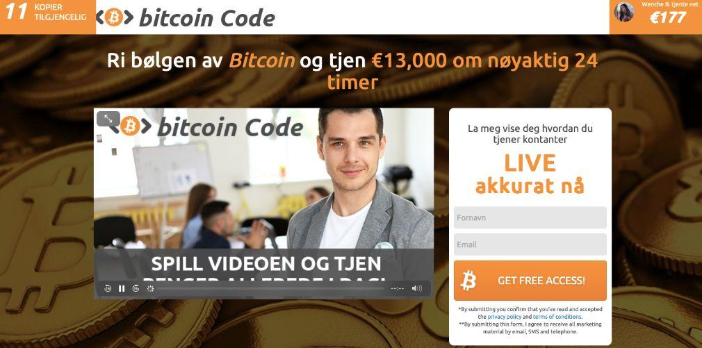 Bitcoin Code Erfaringer