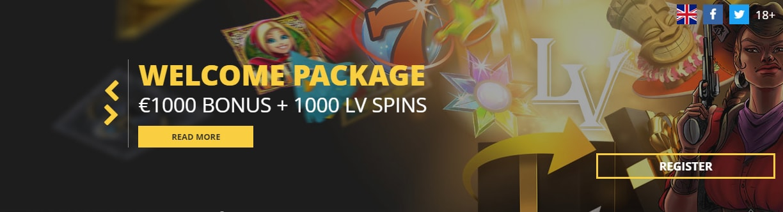 LV Bet Bonus Seite