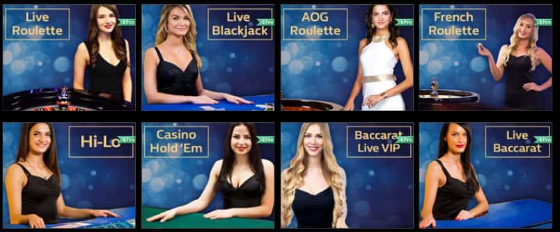 Euro Grand Live Casino