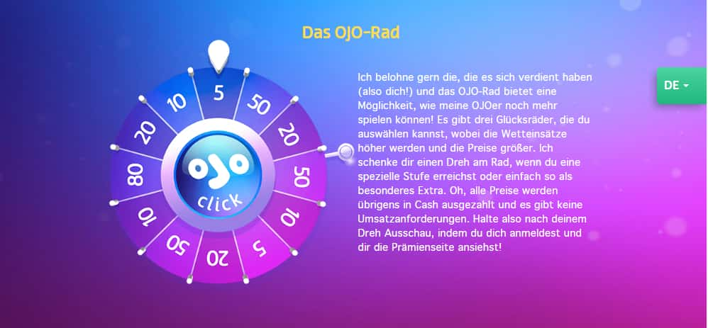 Play Ojo Rad