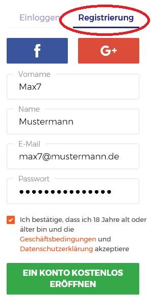 Ethereum kaufen bei IQ Option: Kontoeröffnung