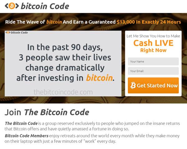 Bitcoin Code fup