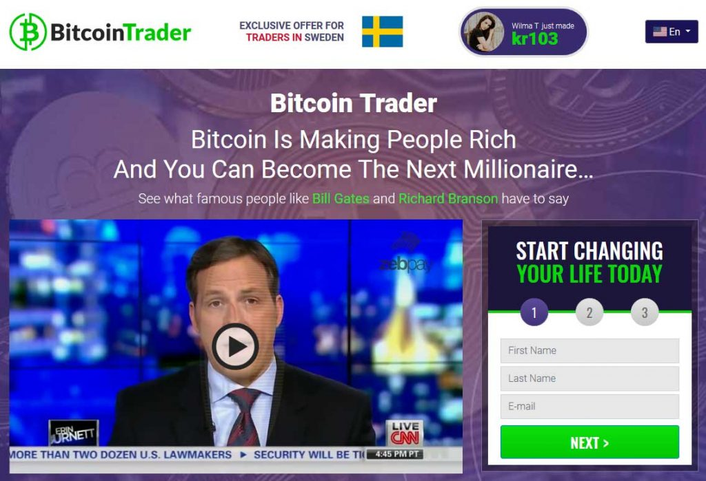 Bitcoin Trader omdöme