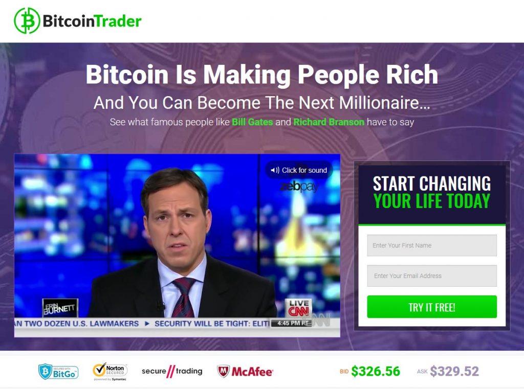 Bitcoin Trader Efaringer