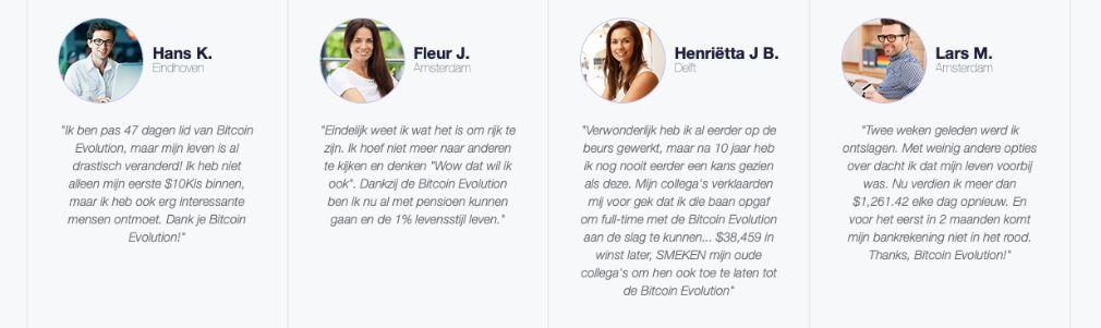 Bitcoin Evolution Succes