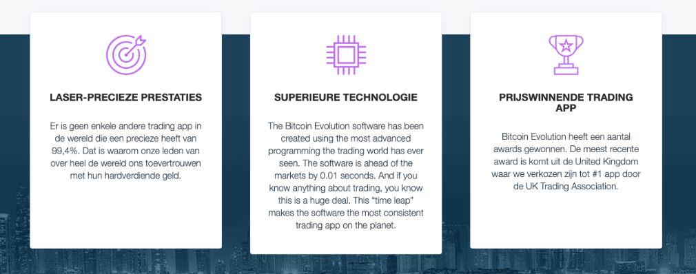 Bitcoin Evolution Voordelen