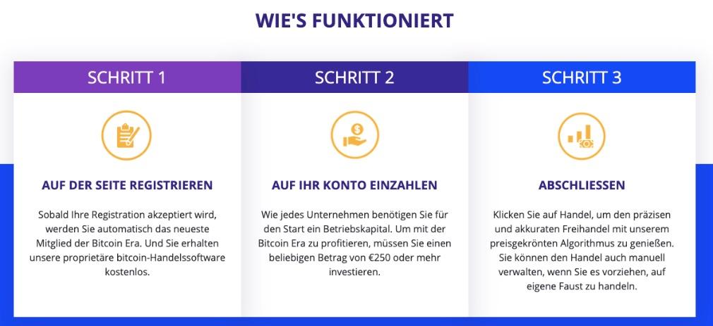 Bitcoin Era wie es funktioniert