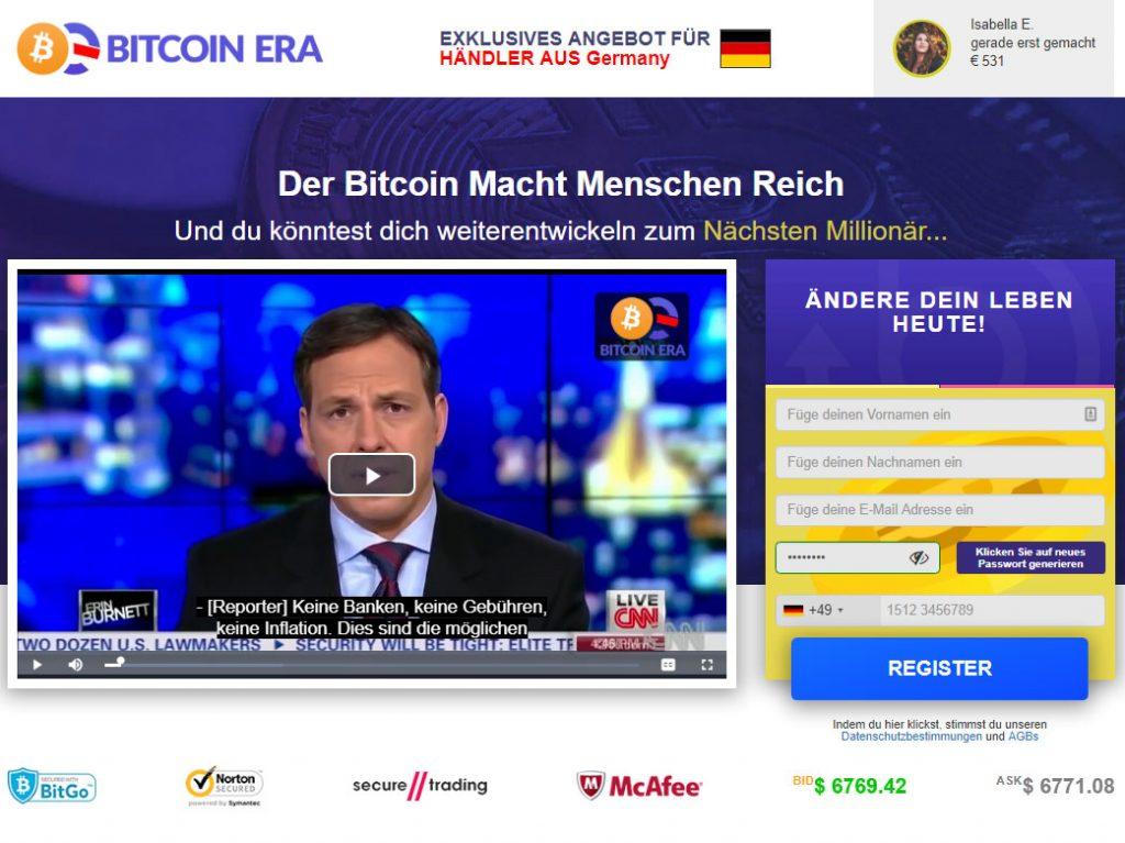 Bitcoin Tijdperk