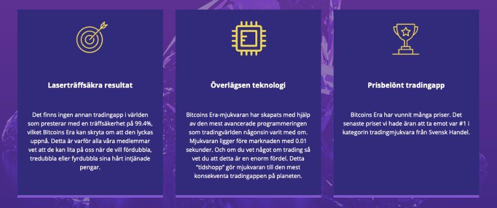 Bitcoin Era fördel