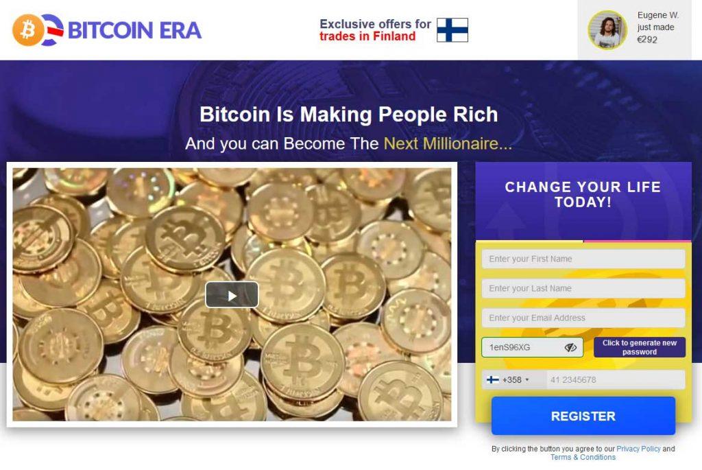 Bitcoin Erahuijaus