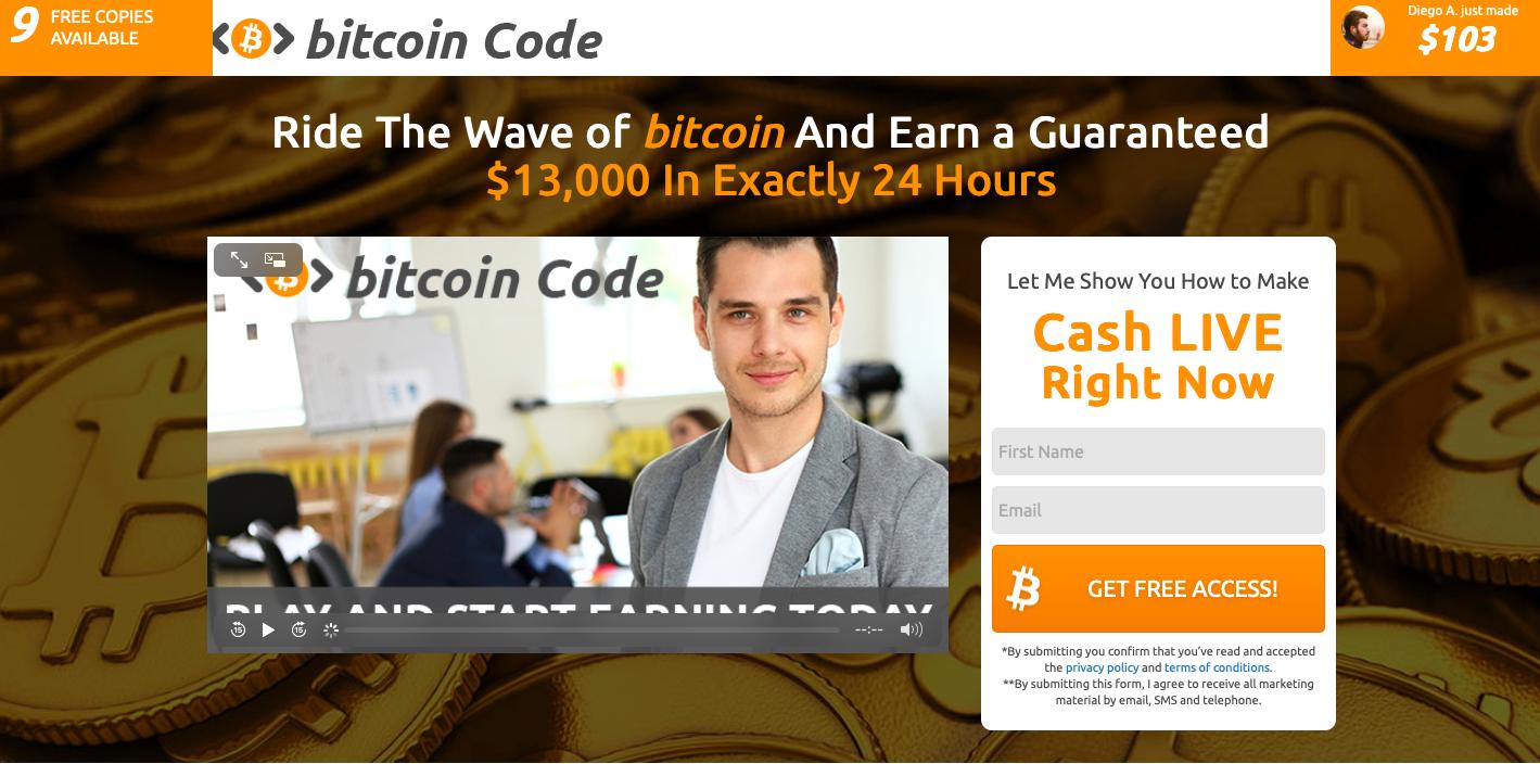 Bitcoin Code é confiavel