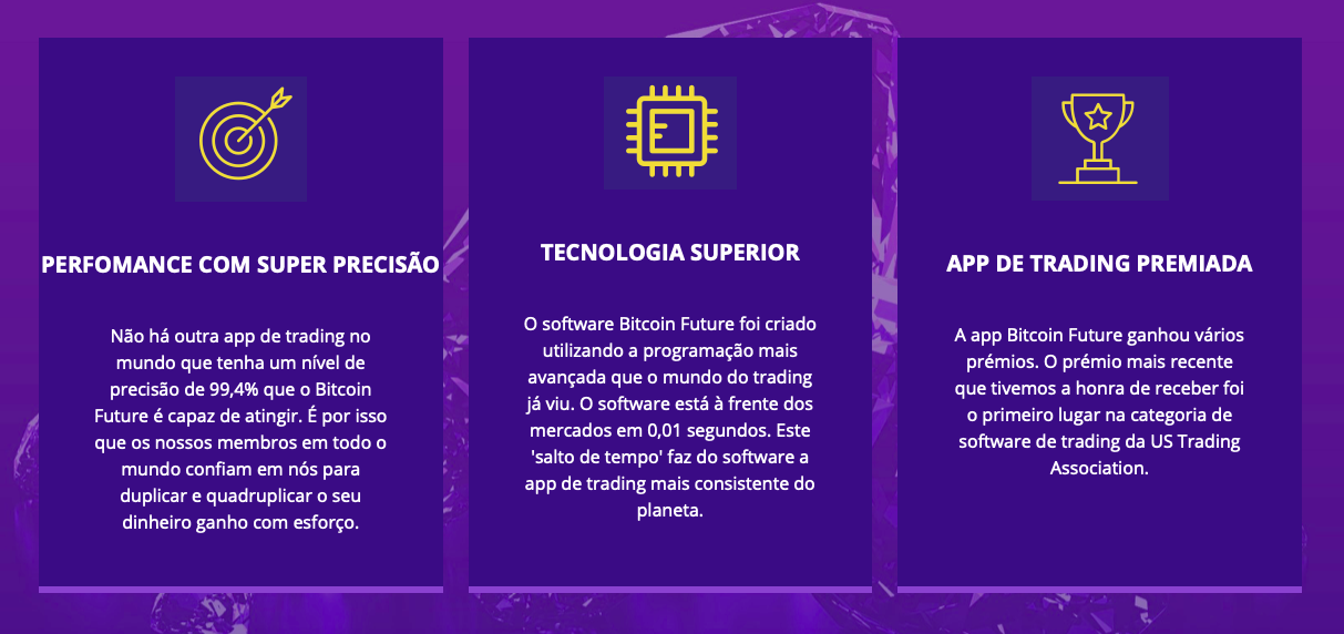 Bitcoin Future benefício