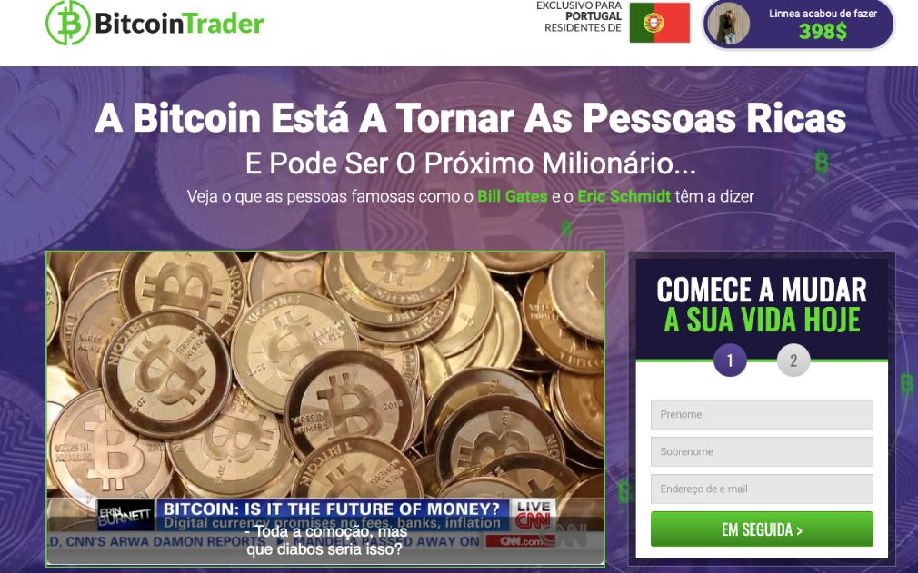 posso negociar bitcoin como ações