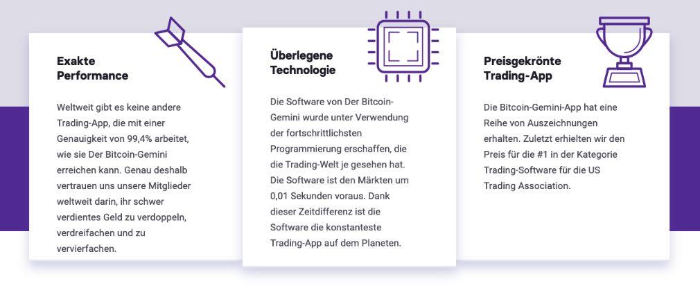 Vorteile von Bitcoin Gemini
