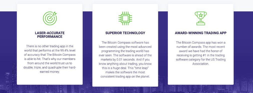 Bitcoin Compass advantage