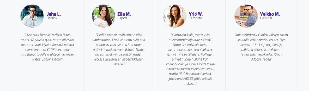 Bitcoin Trader menestys
