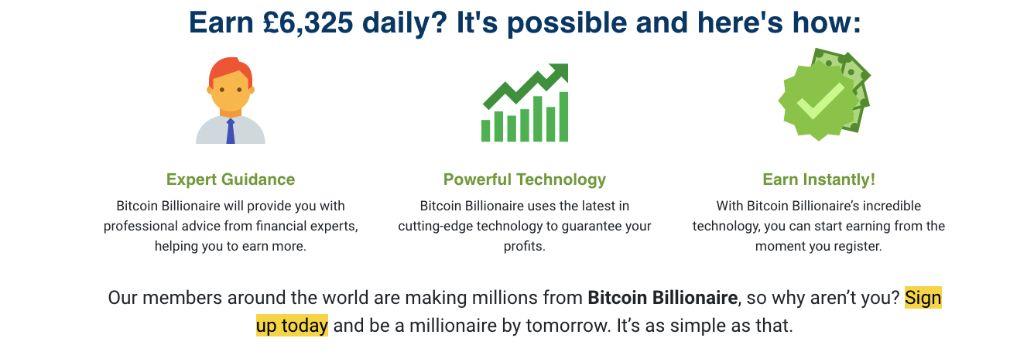Bitcoin Billionaire sukces