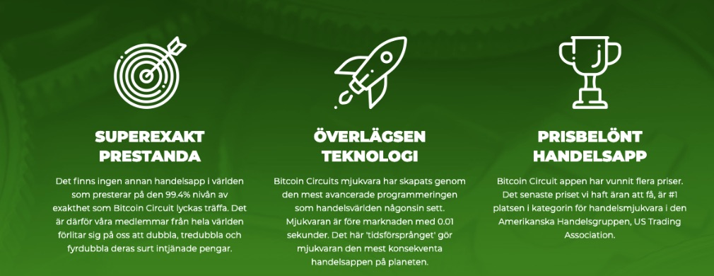 Bitcoin Circuit fördel