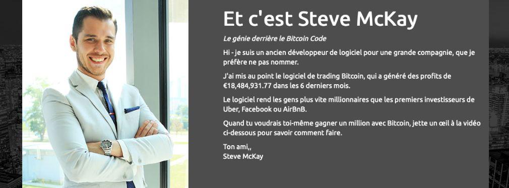 Bitcoin Code avantage