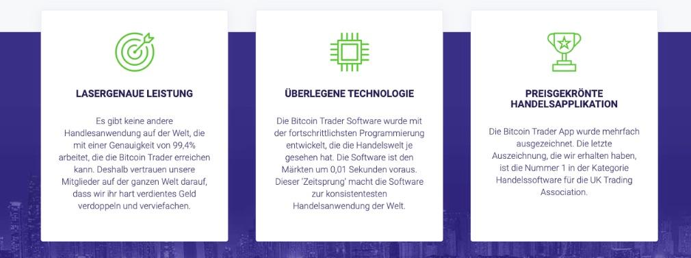 Crypto Trader Merkmale