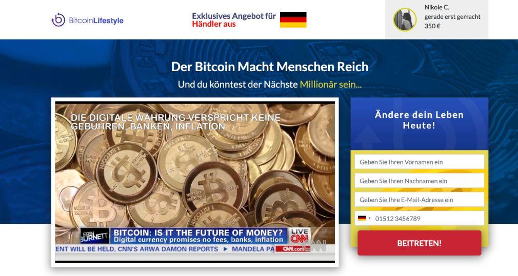 Bitcoin Lifestyle Erfahrungen & Test