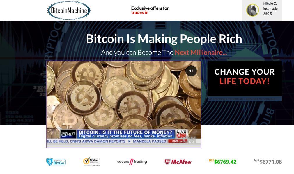 Bitcoin Machine Erfahrungen & Test